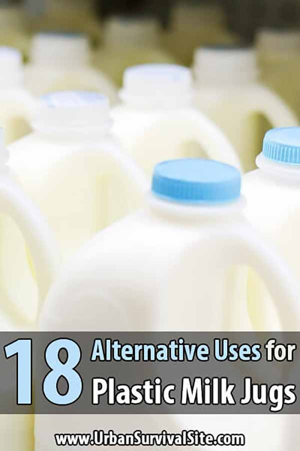 18 Alternative Uses for Plastic Milk Jugs