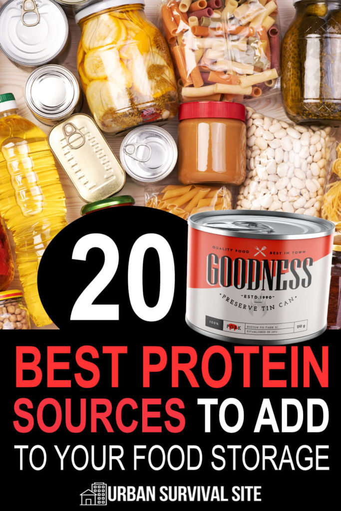 20 Best Protein Sources to Add to Your Food Storage