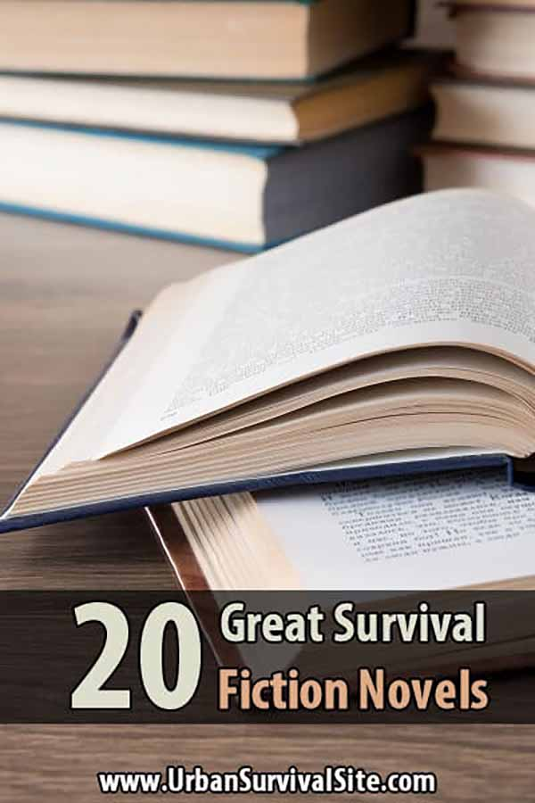 20 Great Survival Fiction Novels