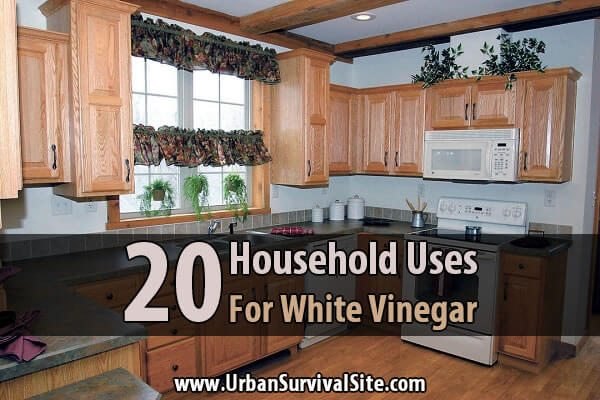 20 Household Uses For White Vinegar