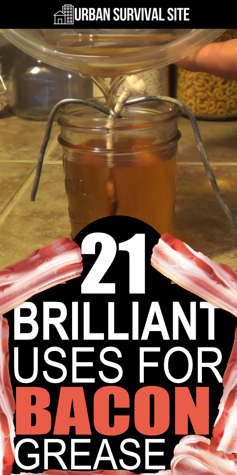 21 Brilliant Uses for Bacon Grease
