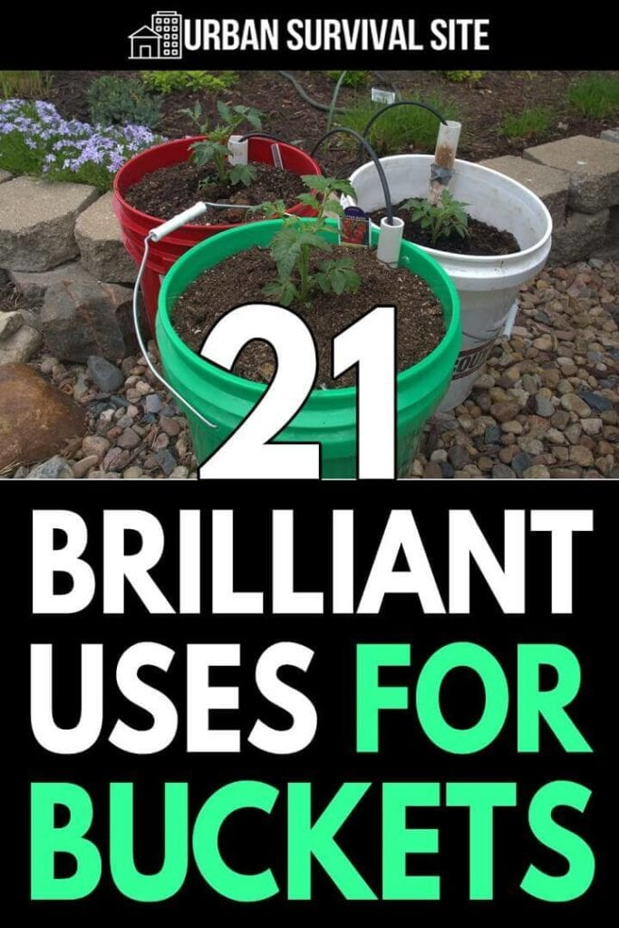 21 Brilliant Uses for Buckets
