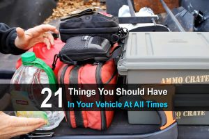 21 Things You Should Have In Your Vehicle At All Times