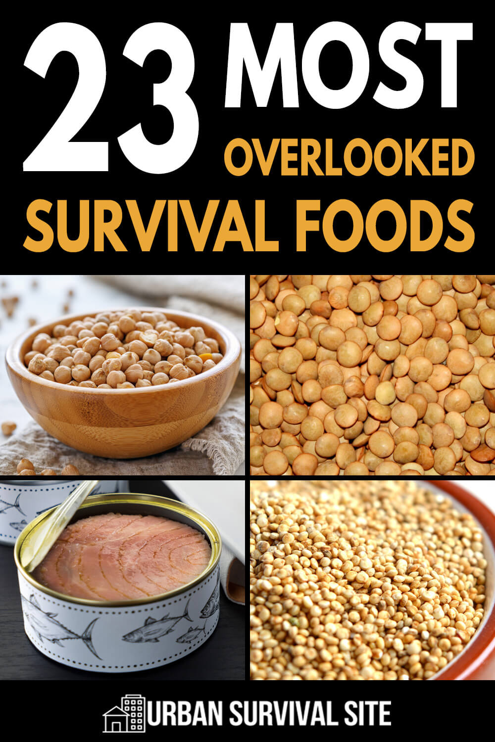 23 Most Overlooked Survival Foods