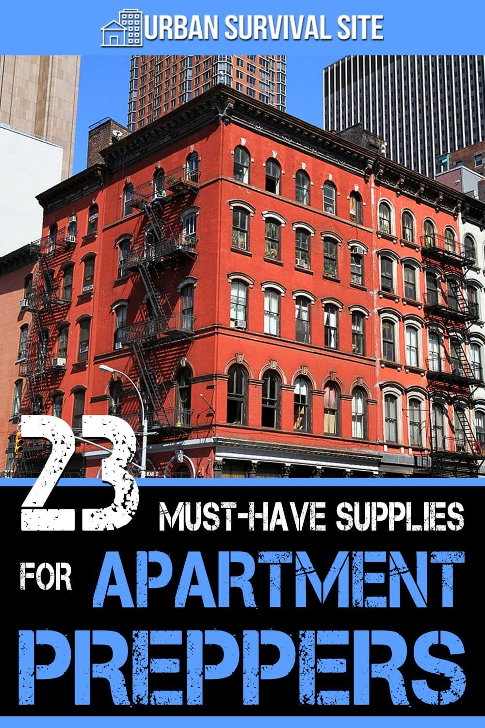 23 Must-Have Supplies for Apartment Preppers