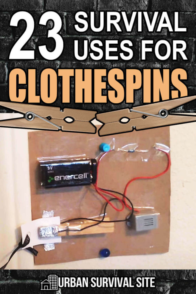 23 Survival Uses for Clothespins