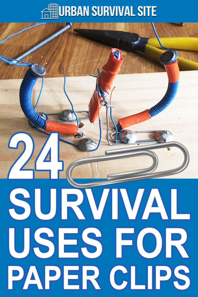 24 Survival Uses for Paper Clips