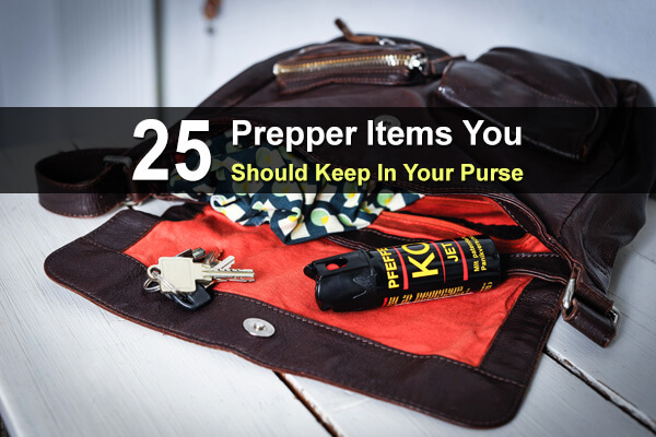 25 Prepper Items You Should Keep In Your Purse
