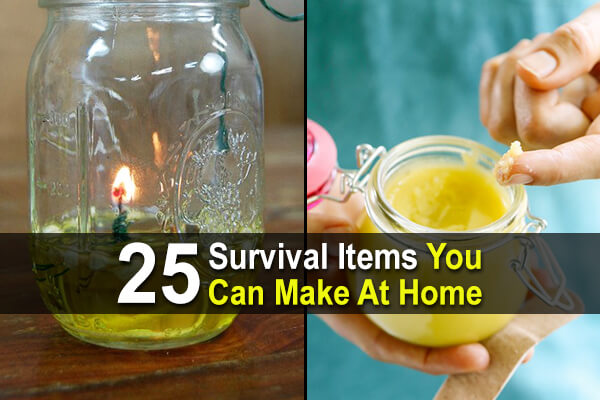 25 survival items you can make at home urban survival site for Products you can make at home