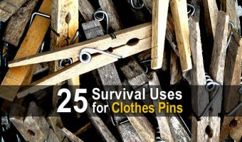 25 Survival Uses for Clothes Pins