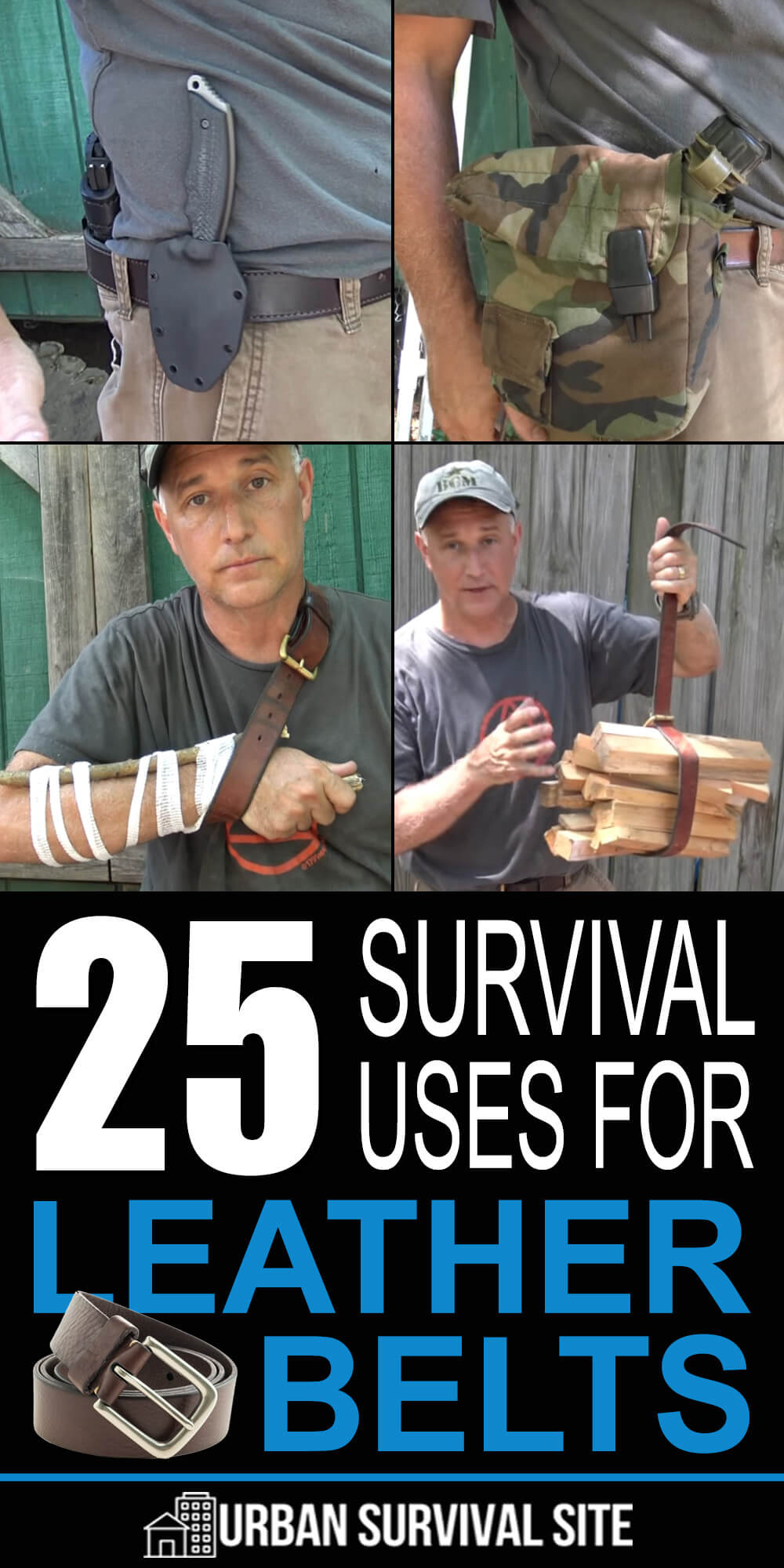 25 Survival Uses For Leather Belts