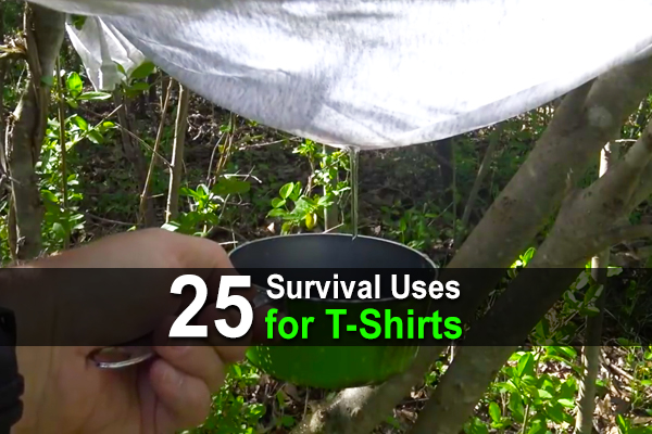 25 Survival Uses for T-Shirts