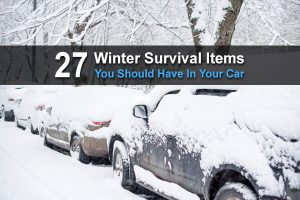 27 Winter Survival Items You Should Have In Your Car