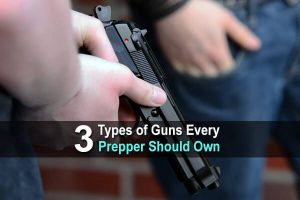3 Types of Guns Every Prepper Should Own