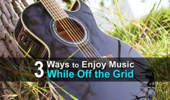 3 Ways to Enjoy Music While Off the Grid