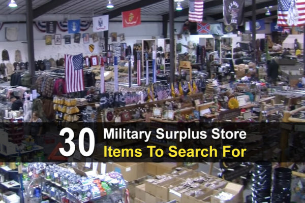 30 Military Surplus Store Items To Search For