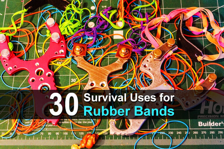 30 Survival Uses for Rubber Bands