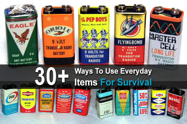 30+ Ways To Use Everyday Items For Survival