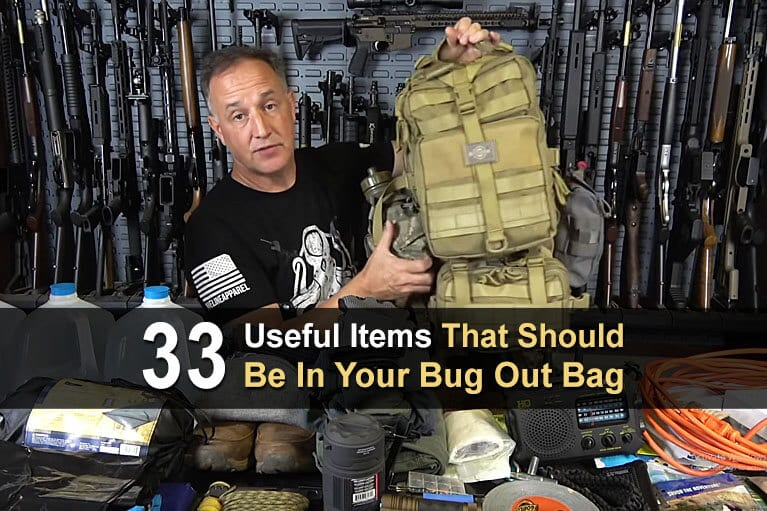 33 Useful Items That Should Be In Your Bug Out Bag
