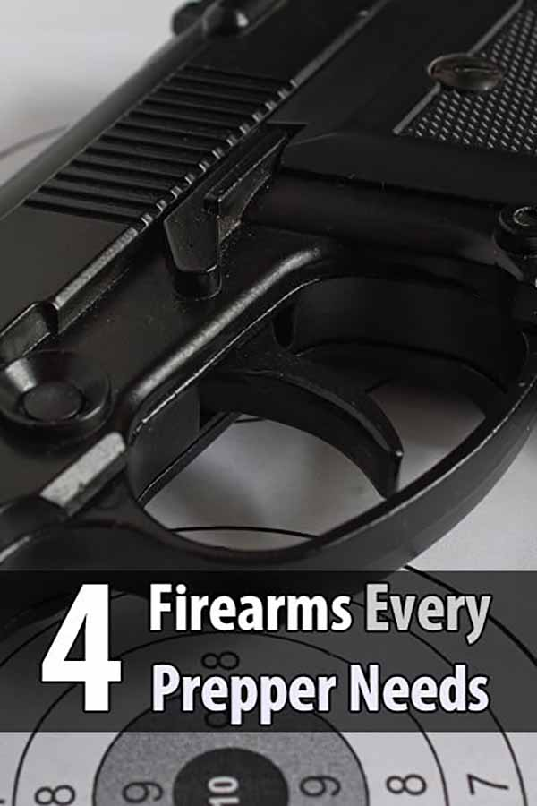 4 Firearms Every Prepper Needs