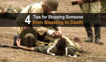 4 Tips for Stopping Someone From Bleeding To Death