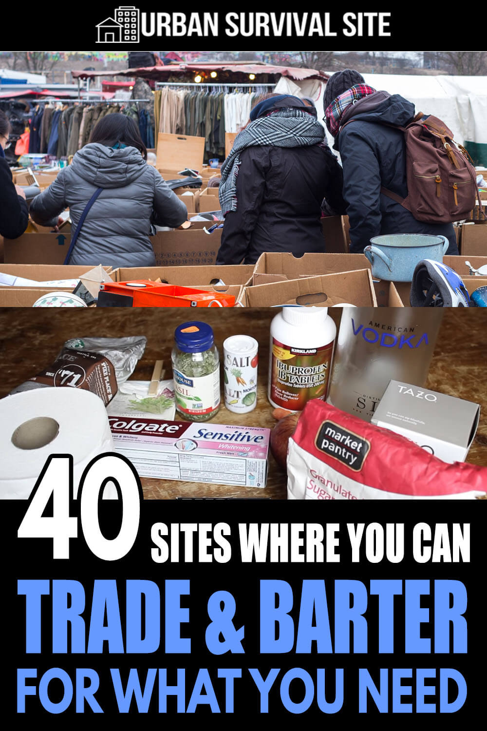 40 Sites Where You Can Trade & Barter For What You Need