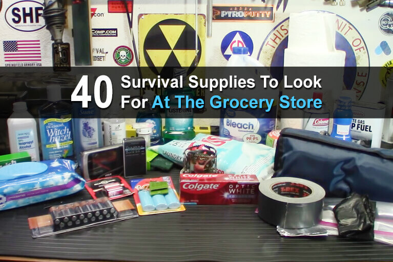 40 Survival Supplies to Look for at the Grocery Store
