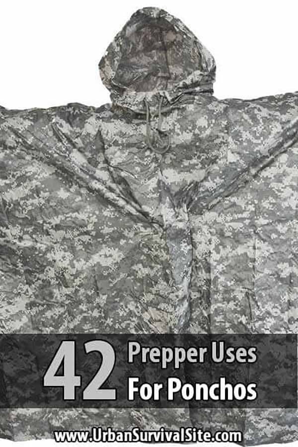 42 Prepper Uses for Ponchos