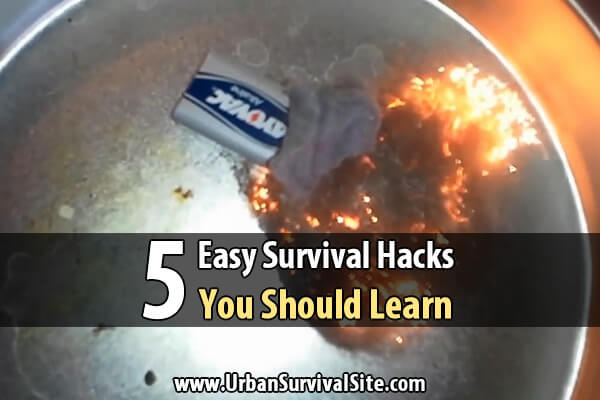 5 Easy Survival Hacks You Should Learn