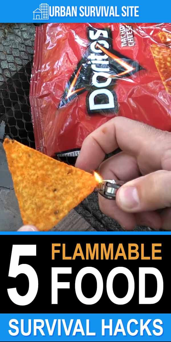 5 Flammable Food Survival Hacks