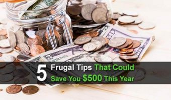 5 Frugal Tips That Could Save You $500 This Year