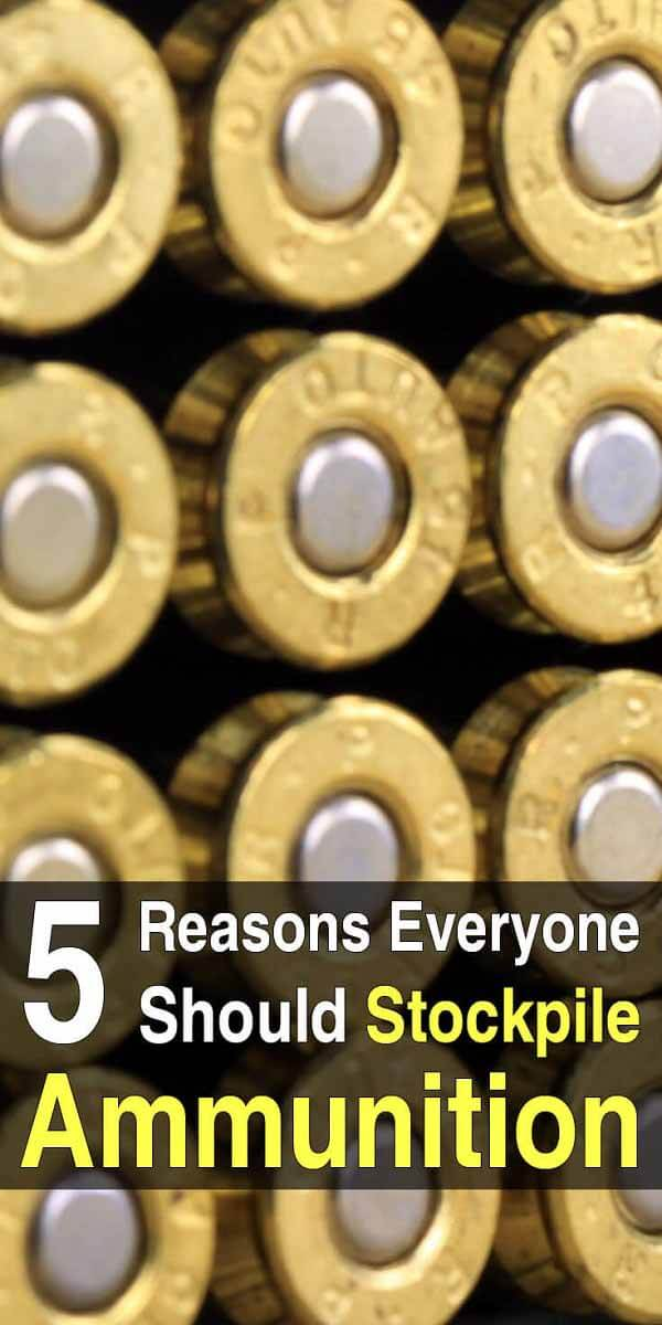 5 Reasons Everyone Should Stockpile Ammunition