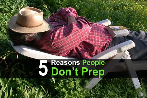 5 Reasons People Don't Prep