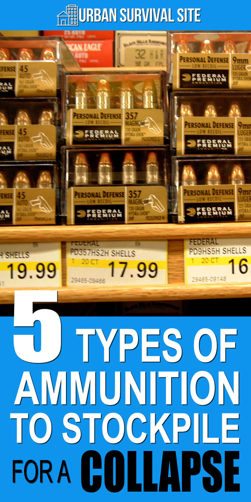 5 Types Of Ammunition To Stockpile For A Collapse