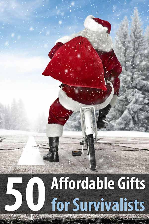 50 Affordable Gifts for Survivalists