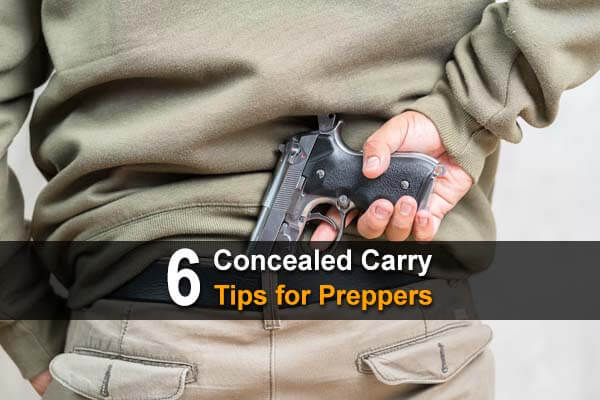 6 Concealed Carry Tips for Preppers