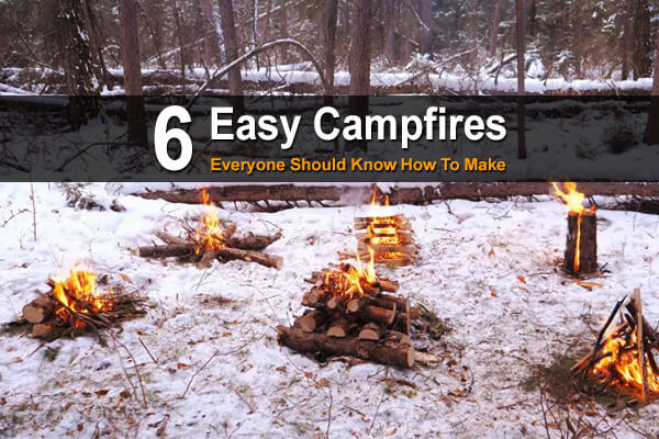 6 Easy Campfires Everyone Should Know How To Make