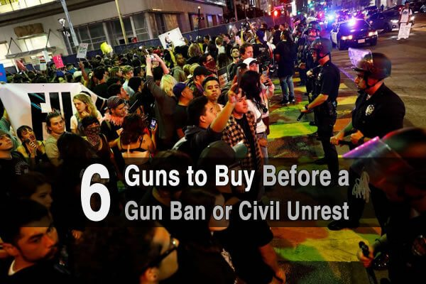 6 Guns to Buy Before a Gun Ban