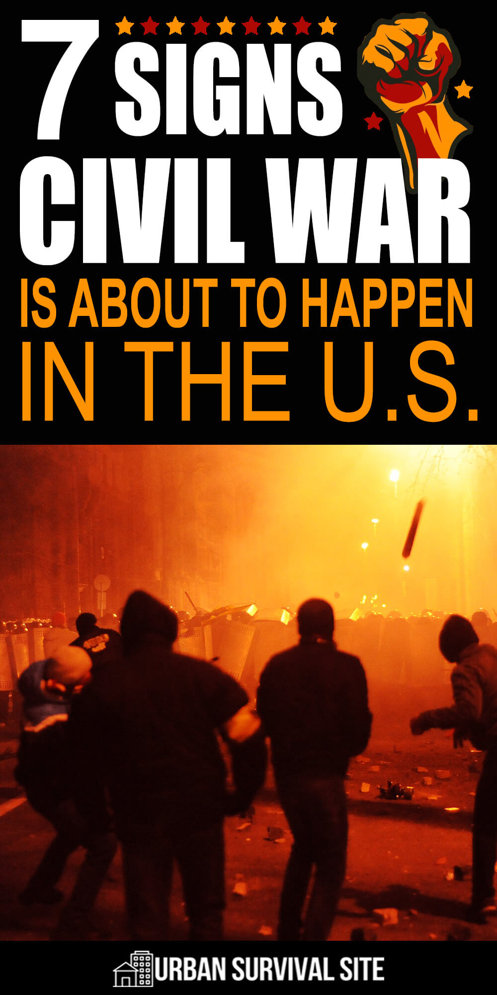 7 Signs Civil War is About to Happen In The U.S.