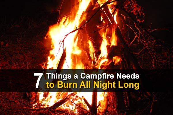 7 Things a Campfire Needs to Burn All Night Long