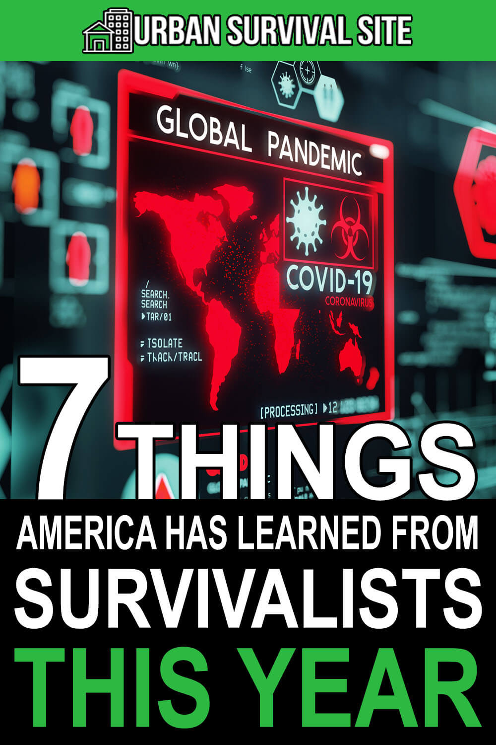 7 Things America Has Learn From Survivalists This Year