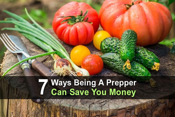 7 Ways Being A Prepper Can Save You Money