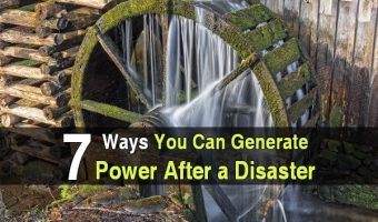 7 Ways You Can Generate Power After a Disaster