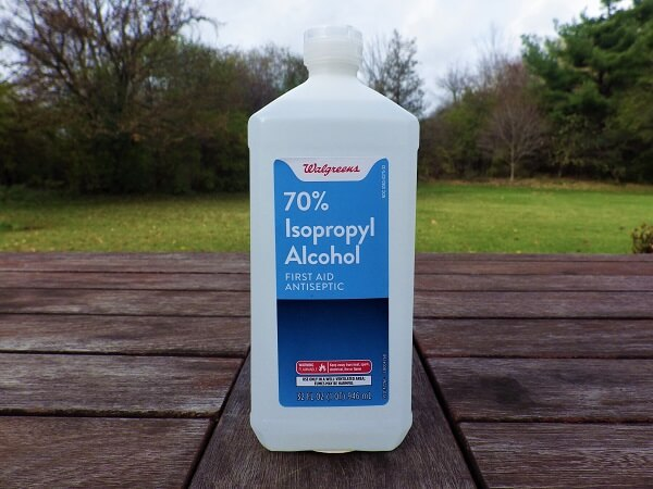 70% Isopropyl Alcohol Bottle