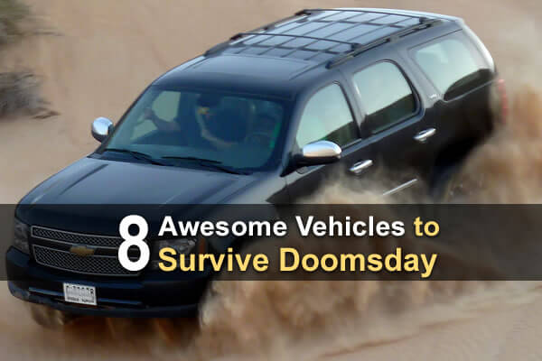 8 Awesome Vehicles to Survive Doomsday
