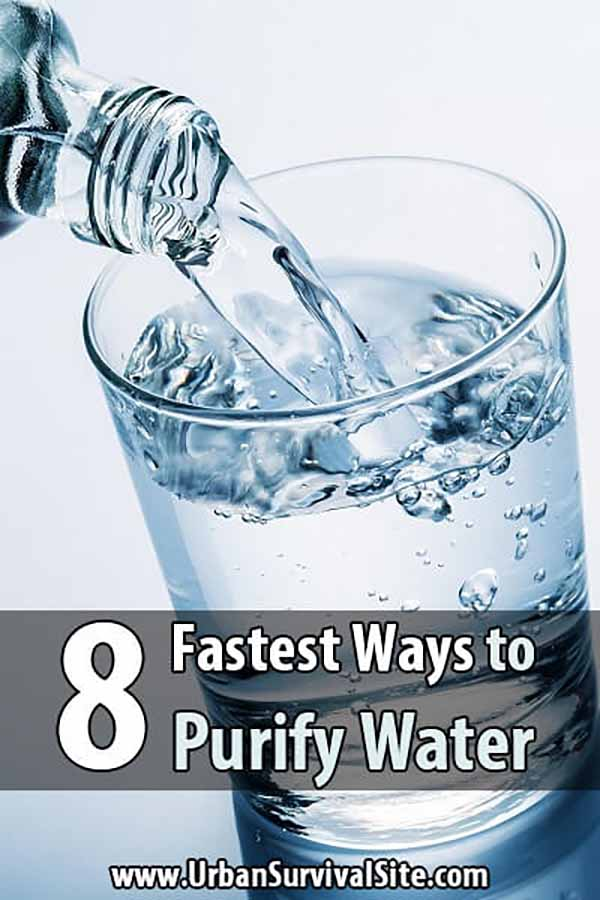 8 Fastest Ways to Purify Water