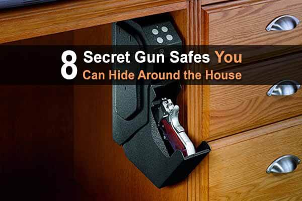8 Secret Gun Safes You Can Hide Around The House