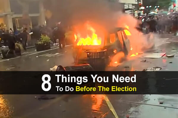8 Things You Need To Do Before The Election