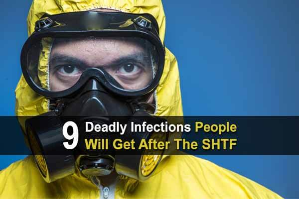 9 Deadly Infections People Will Get After The SHTF