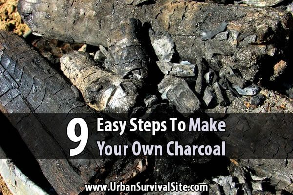 9 Easy Steps to Make Your Own Charcoal